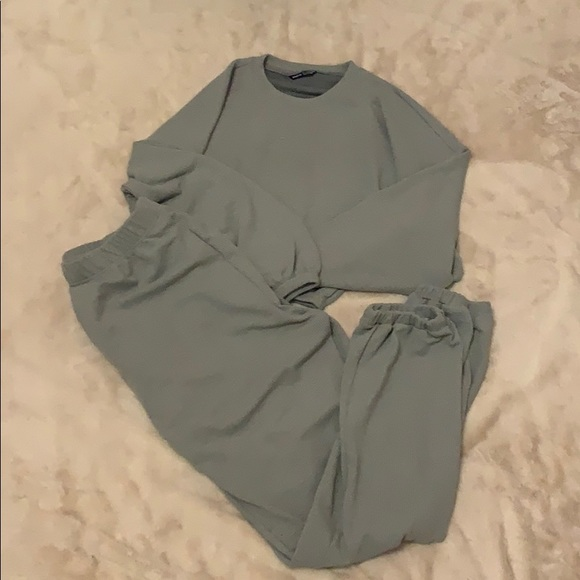 SheIn pullover and pant set